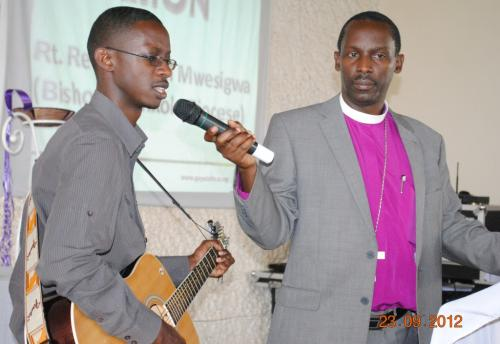 05 Andrew & Bishop Sheldon Mwesigwa