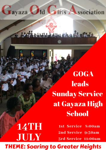 GOGA lead Sunday Service July 2019