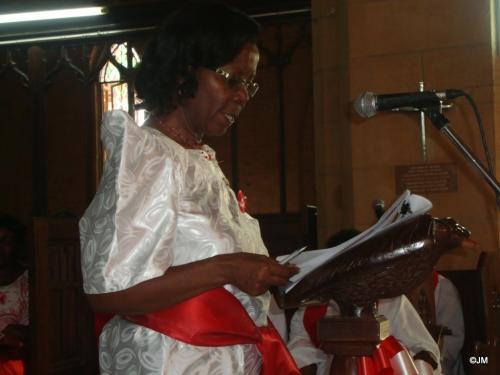 16 Mrs. C. Kiganda Chair-org cttee