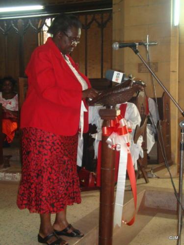 17 Mrs. Mukasa rep. of Katikiro of Buganda