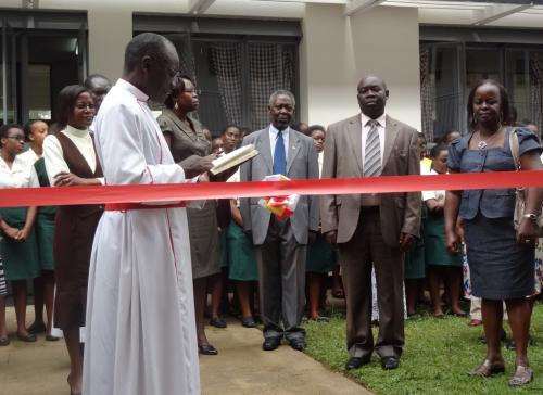 9.Classroom block Prayer at opening1