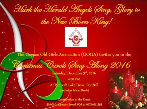 GOGA Carols - December 2016