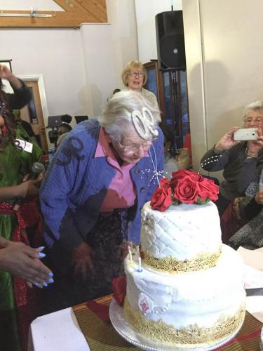 Miss Warren's 90th Birthday - November 2017